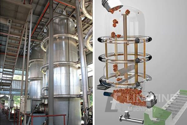what types of machines are used in palm - oil extraction