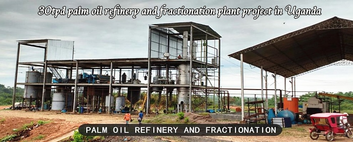 3 2005151Q50A06 - 30tpd palm oil refinery and fractionation plant