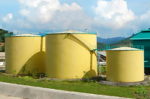 Crude Oil Storage Tank