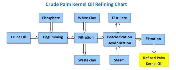 crude palm kernel oil refining processing line - Palm Kernel Oil Refining