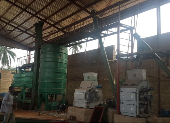 palm kernel oil extraction plant 1 - 60t/day palm kernel oil extraction plant completed