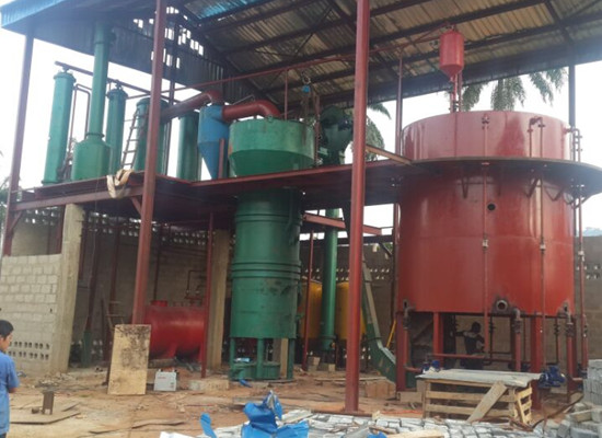 palm kernel oil extraction plant 2 - 60t/day palm kernel oil extraction plant completed