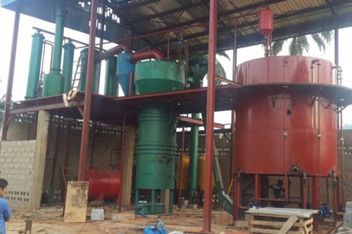 60t/day palm kernel oil extraction plant completed