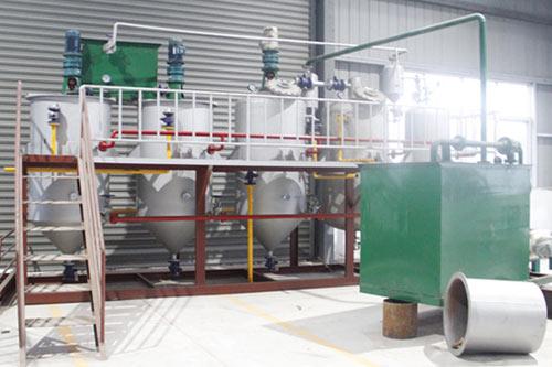 2TPD palm kernel oil refinery plant in Liberia