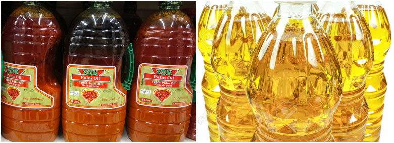 red palm oil vs refined oil - 1-30 T/D Palm Oil Refining